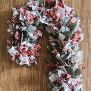 Other - Fabric Candy Cane